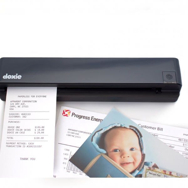 Scan photos and documents with the great Doxie One scanner!