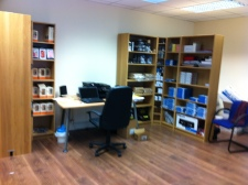 Stock At Our First Main Office