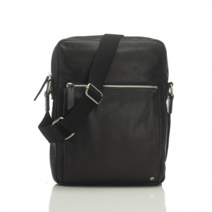 "Marshall Bergman 11"" Macbook Bag Adam Black Leather"