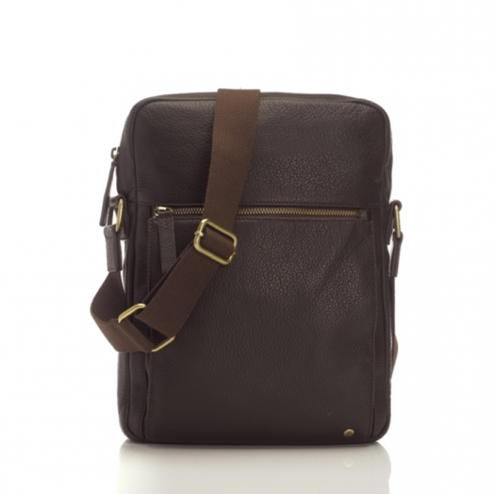 "Marshall Bergman 11"" Macbook Bag Adam Espresso Bag"