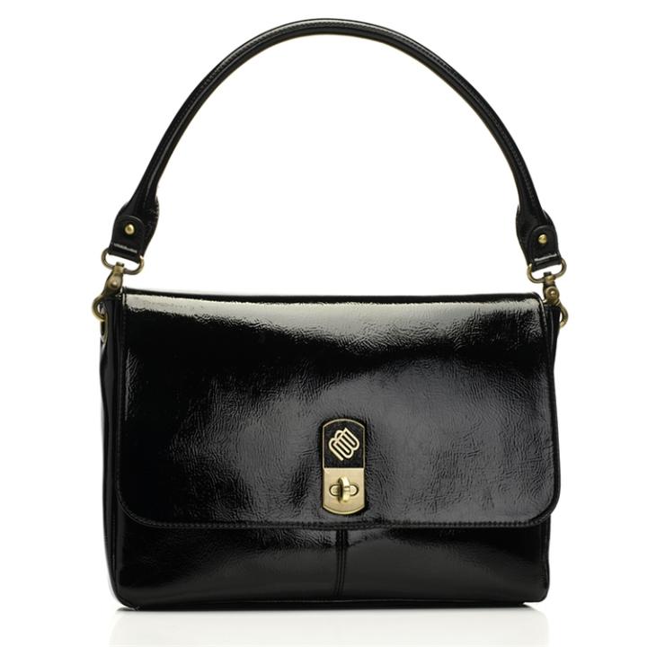 Marshall Bergman 11' Macbook/Tablet Bag Phoenix Black Patent