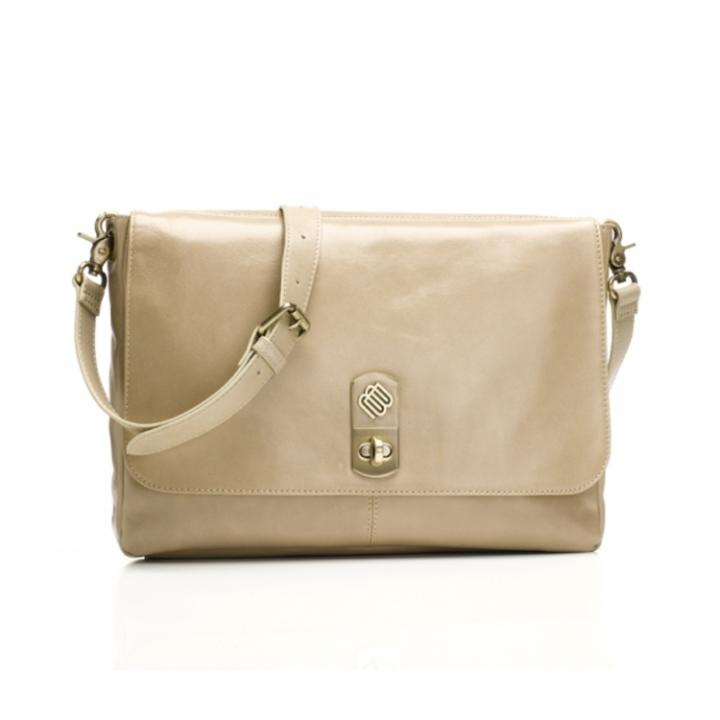 Marshall Bergman 11' Macbook/Tablet Bag Phoenix Stone Leather